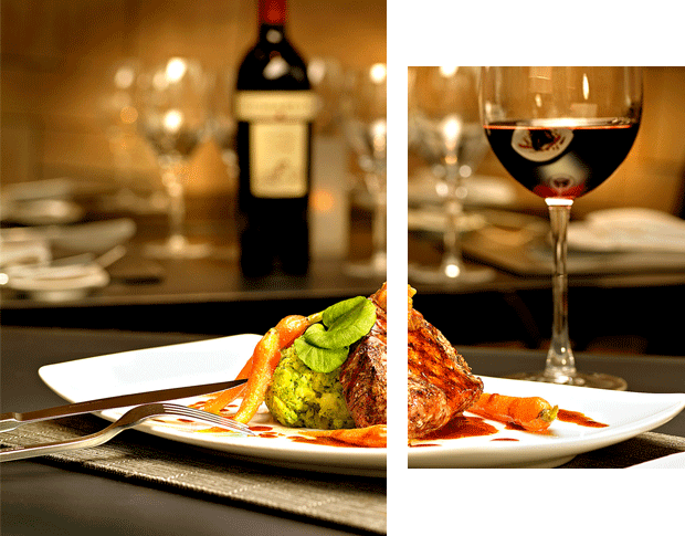We are a modern Italian restaurant & winery in the center of the city
